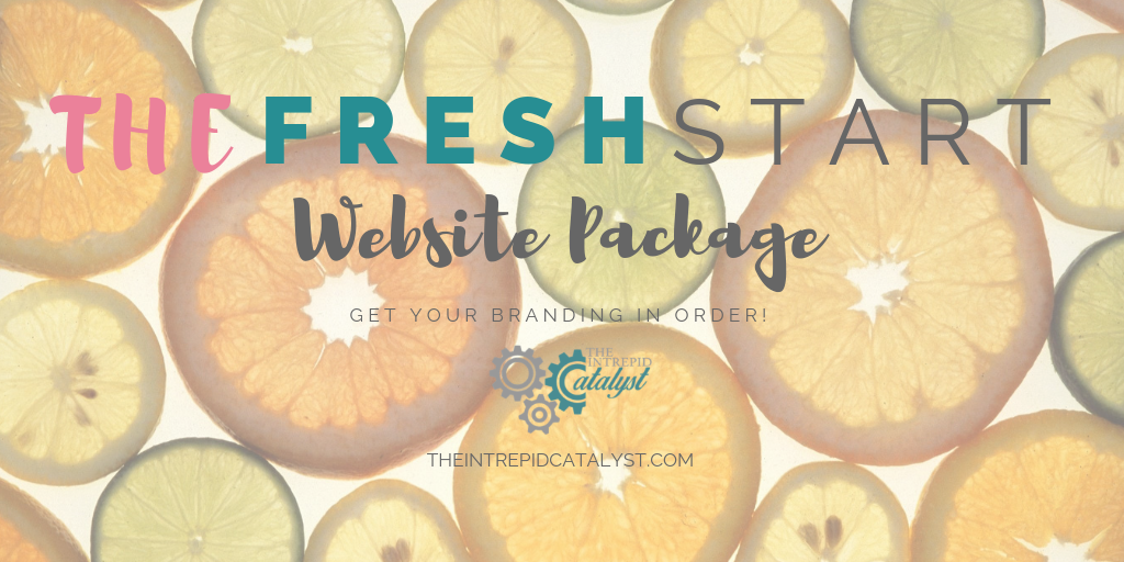 Fresh Start Website Package